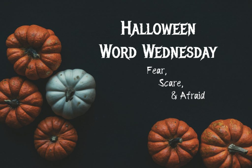 Halloween Word Wednesday