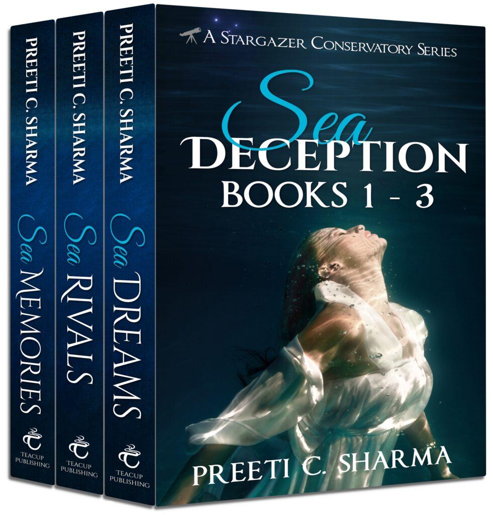 Sea Deception Box Set Cover